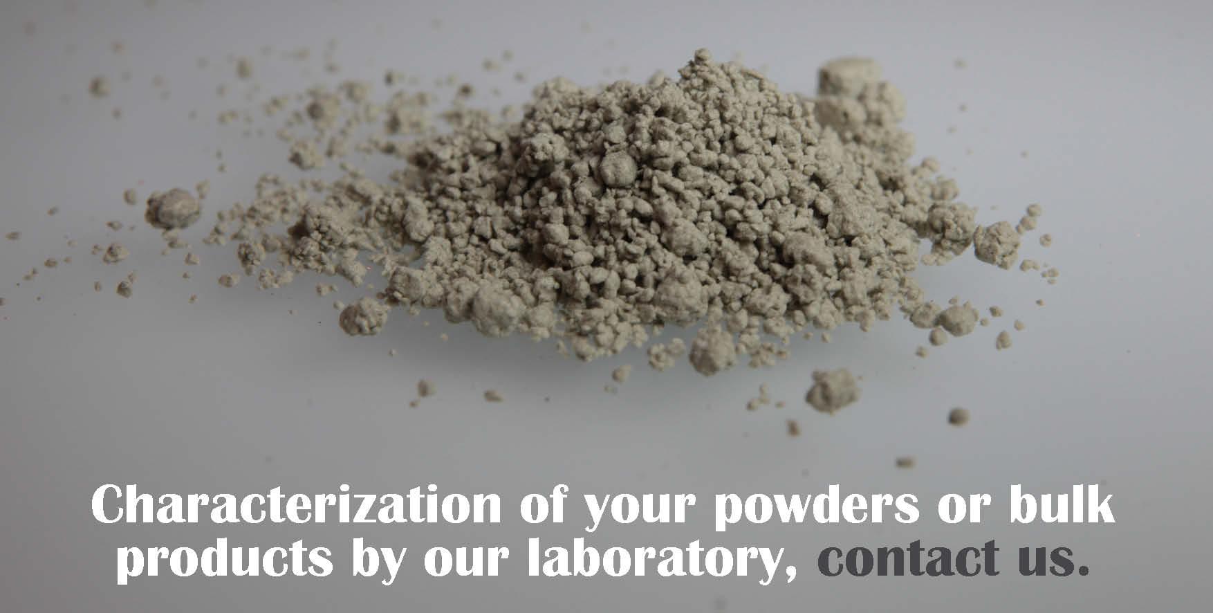 characterization powders bulk products by laboratory kst emi palamatic