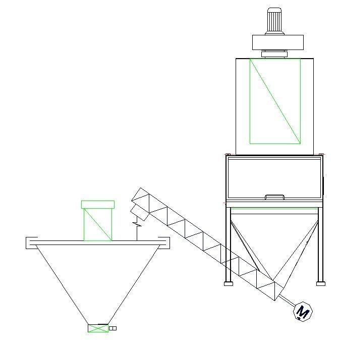 Implantation filtre degazage industriel