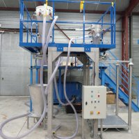 pneumatic conveying sack opnening systems