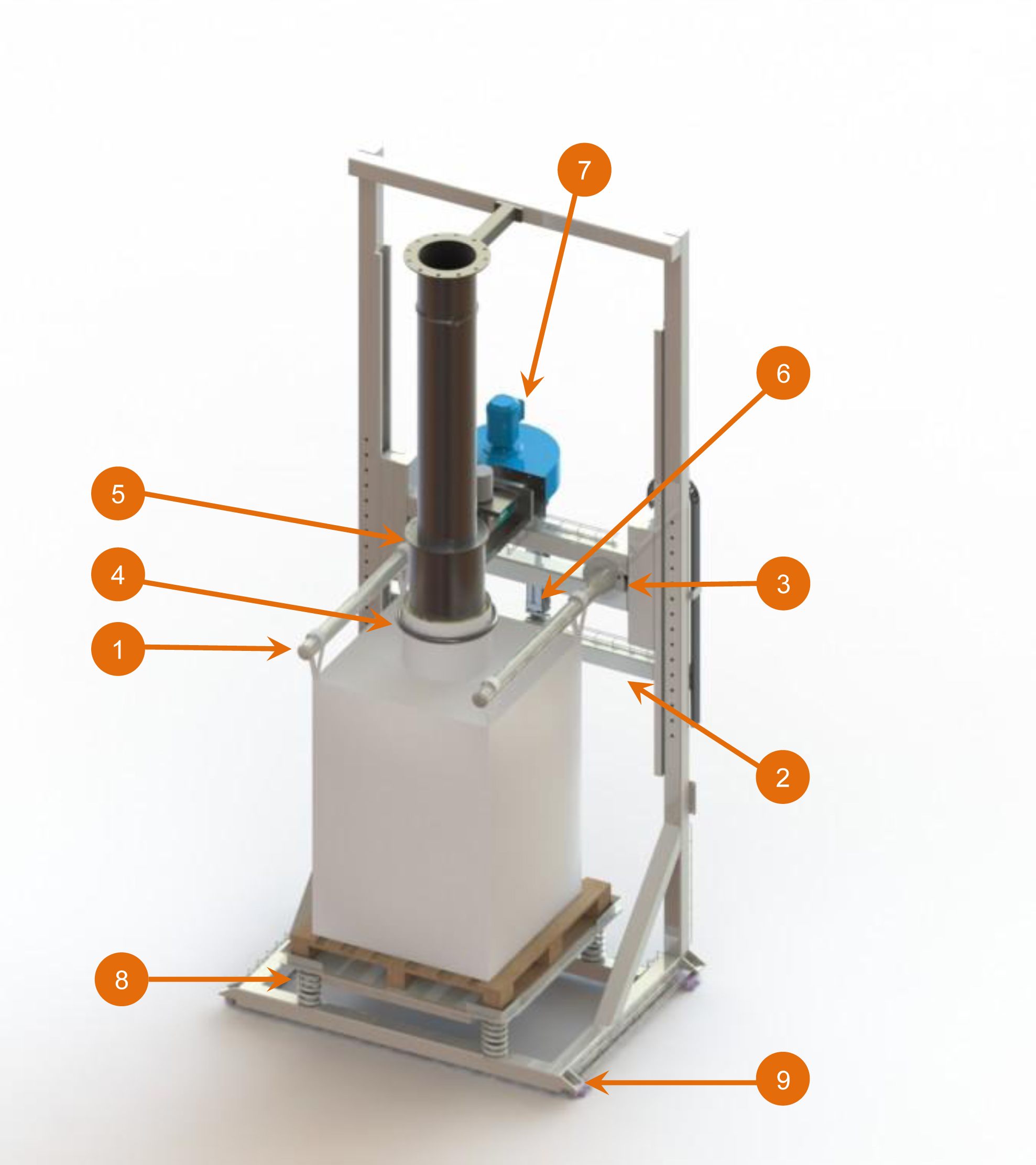 specification big bag filling system fibc station jumbo bag flowmatic 03 palamatic