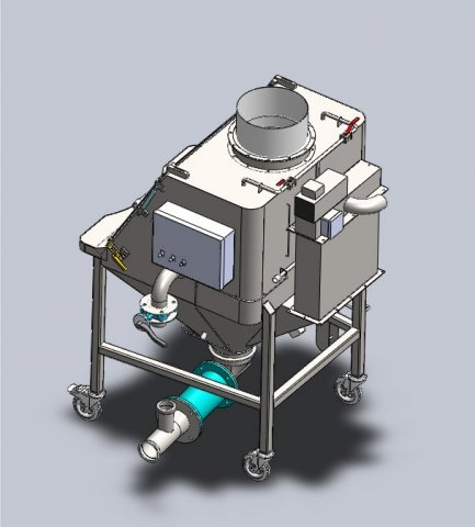 confined manual sack opening systems implantation