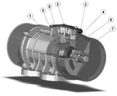 diagram electric vibrator