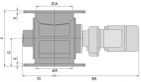 dust lock valve dimensions