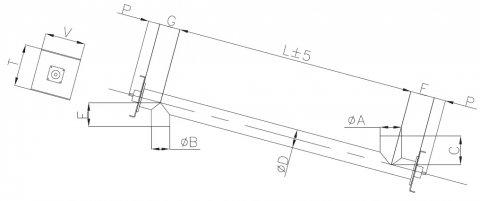 tubular screw conveyor dimensions