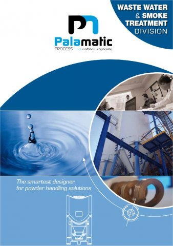 waste water treatment industry documentation palamatic process mini