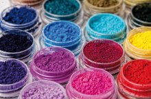 Chemicals industry dyes industrial production line