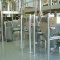 cosmetic processing industry bag discharging system palamatic