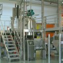 fine chemical processing industry bag discharging system palamatic process