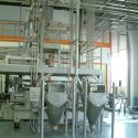 fine chemical processing industry bag discharging system palamatic