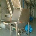 manual sacks dumping unit with cip
