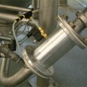pinch valve on pneumatic conveying line