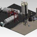 palamatic lorry loading spout feeding process