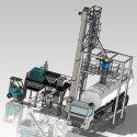 powder industrial feeding process